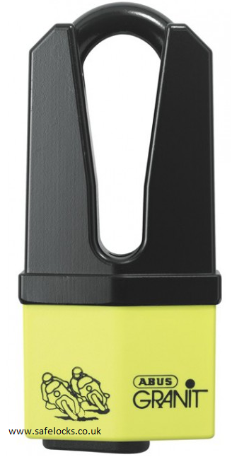 Abus Granit 37 60hb70 Yellow Quick Brake Disc Lock