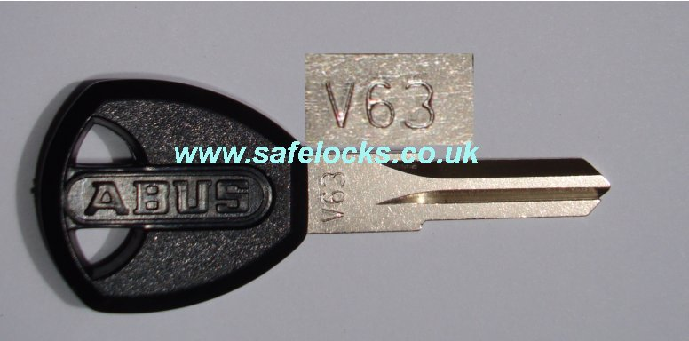 Abus V63 Key Cutting To The Code Stamped On Your Key