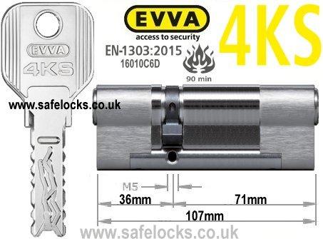 Evva 4ks 35 75 Highest Security Bs En1303 2015 Euro