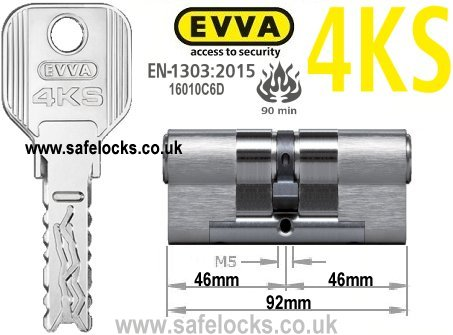 Evva 4ks 46 46 Highest Security Bs En1303 2015 Euro