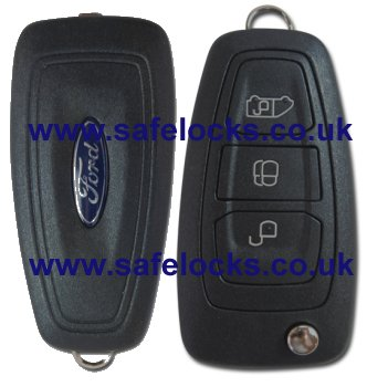 Ford C Max 2010 2015 Remote Genuine 3 Button Remote With