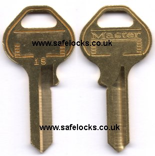 Master Lock 15 Key No 15 Padlock Key Cut To Code