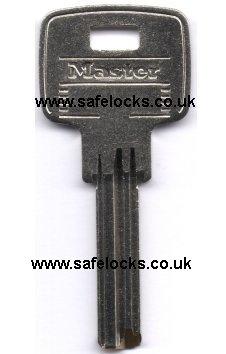Master Lock 2950 Dimple Key Padlock Key Cut To Code