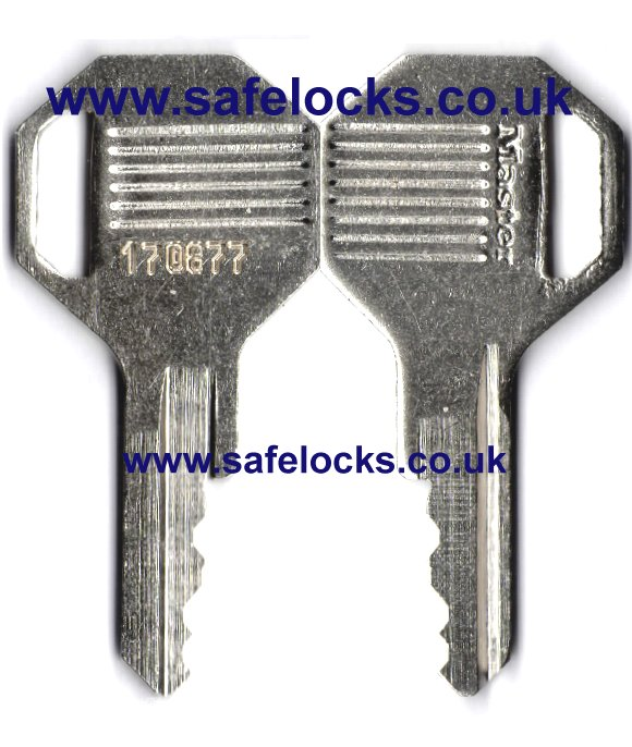 Master Lock Excell key Padlock key cut to code