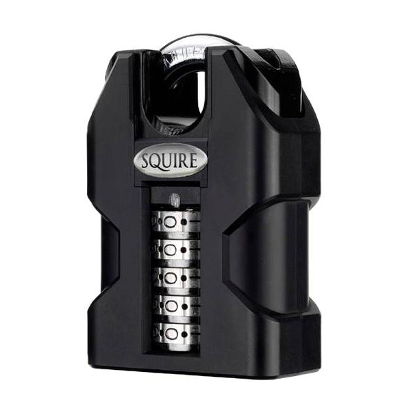 Squire Ss50cs Stronghold Steel Closed Shackle Recodable