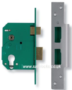 Union L224406 Euro Profile Escape Mortice Lock Outward