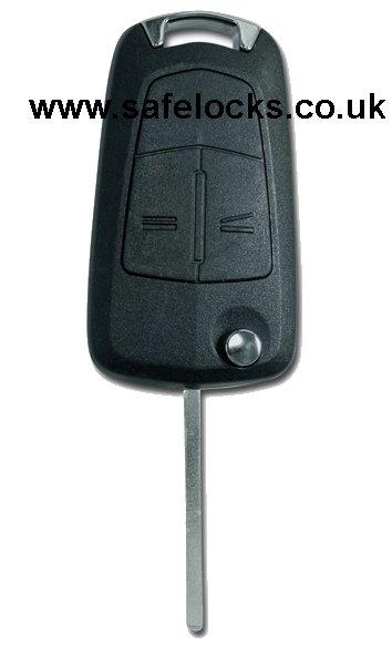 Vauxhall Combo Van 2007 2012 13213488 2 Button Flip Remote