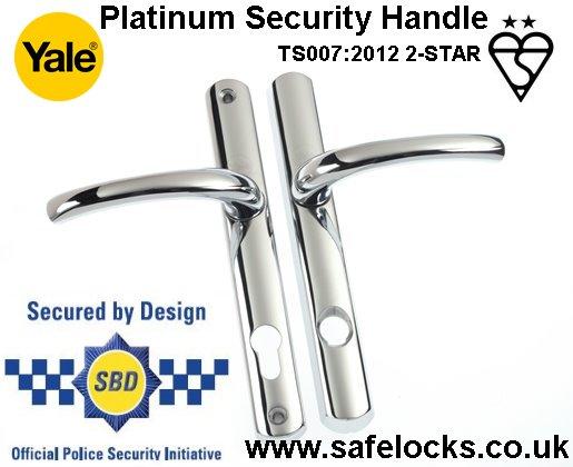 Range of handles for Multipoint locks UPVC Composite Timer